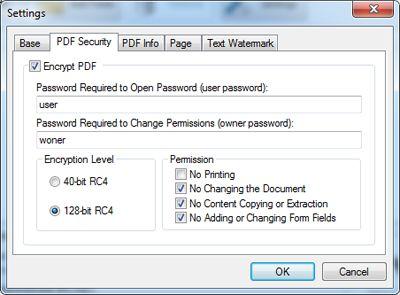 create a pdf file with mutlple documents