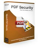 Screenshot of Mgosoft PDF Security SDK 9.6.3