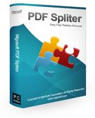 Screenshot of Mgosoft PDF Spliter SDK