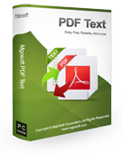 Click to view Mgosoft PDF Text Converter 7.0.3 screenshot