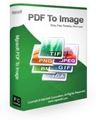 Mgosoft PDF To IMAGE Converter Screen shot