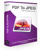 Mgosoft PDF To JPEG Converter Screen shot